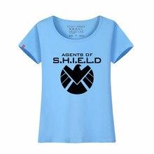 LYTLM Agents of Shield T Shirts Women 2018 Summer Top Brand Clothing Streetwear Femme Tee Shirts Avengers T Shirt Woman Big Size