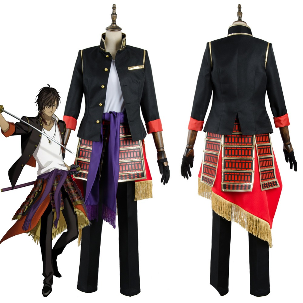 2017 Touken Ranbu Ookurikara Cosplay Costume Adult Halloween Carnival Costumes