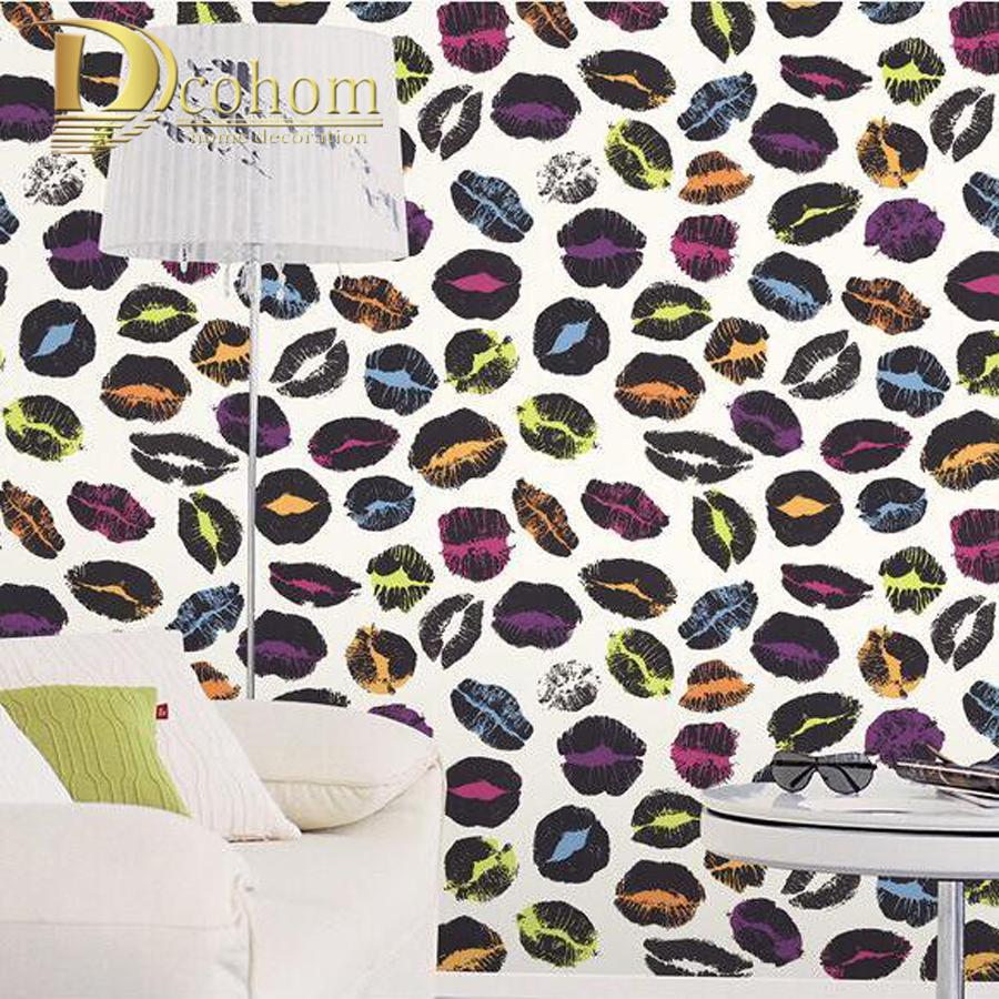 impermeable de pvc de moda moderno papel tapiz para paredes diseo tema restaurante bar ktv