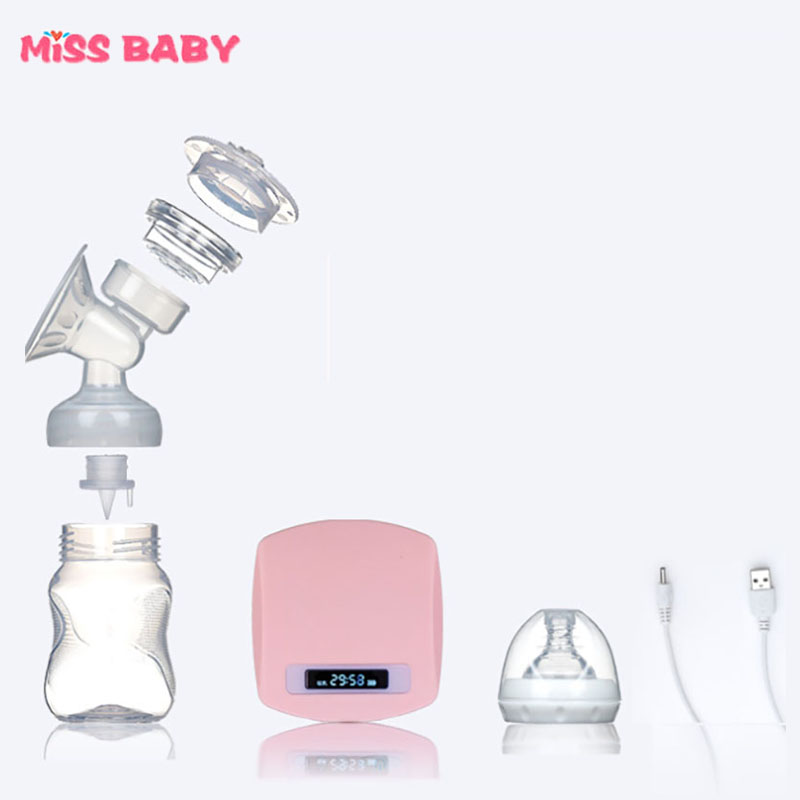 Massage and Sucking Two-in-one Breast Pump Milk extractor de leche Electric Milk BPA Free incidence of lactobacilli in milk