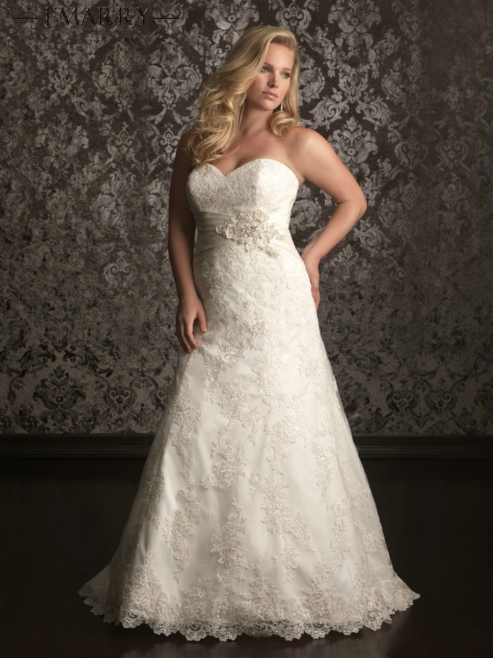 SZ310 Romantic Best Selling Ivory Lace Sweetheart Organza Lace ...