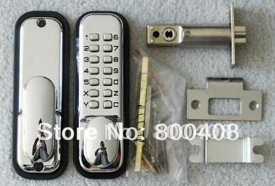 Keypad Door Lock >> Simple Keypad Push Button Door Lock fire resistance Stainless Steel Latch,Mechanical Keypad lock ...