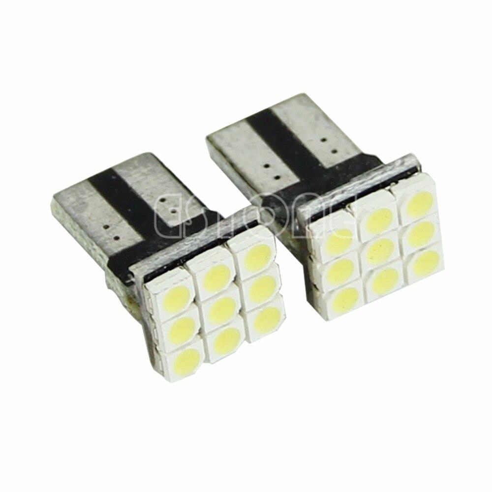 2X T10 194 168 W5W 9 <font><b>LED</b></font> SMD 3528 Blanc Клин <font><b>VOITURE</b></font> clignotants ампулы лампе