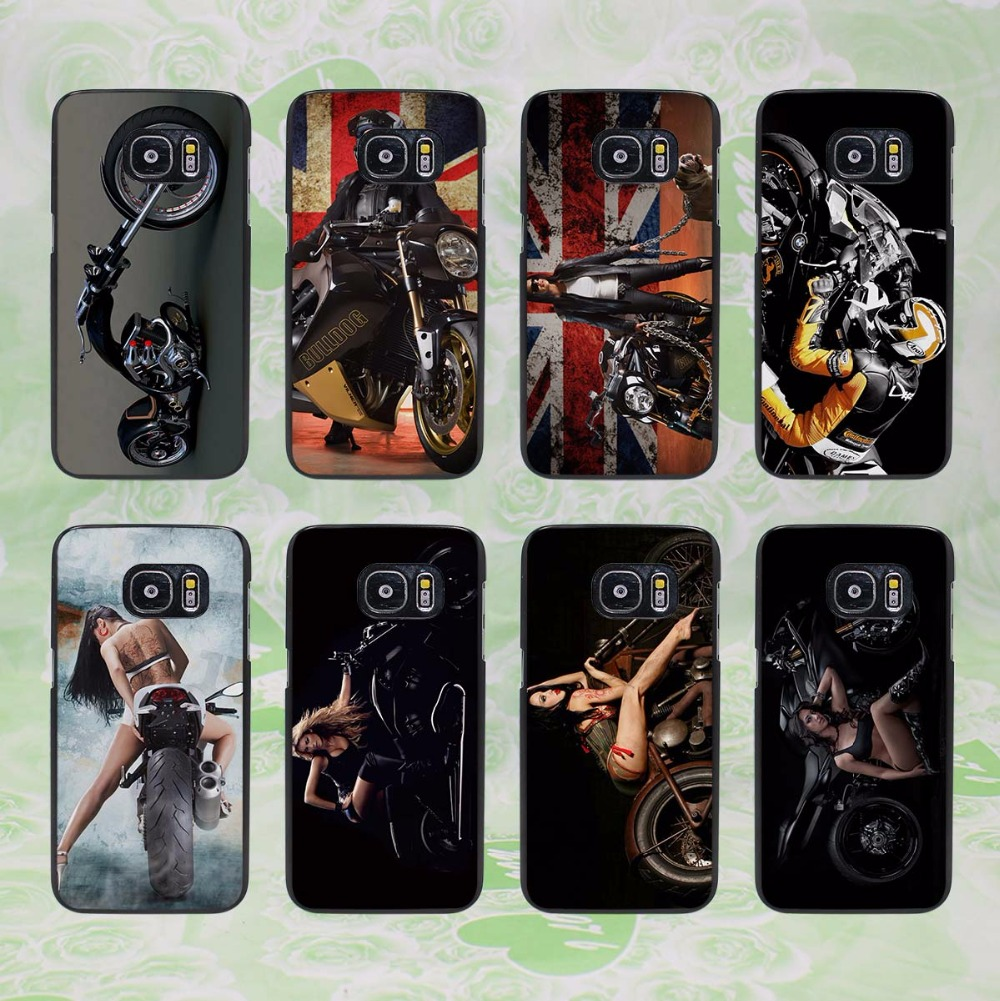 Cool motorcycle 19 design hard black phone Case Cover for samsung galaxy s8 s8 plus s7 s6 edge j3 j5 2016 j7 2016