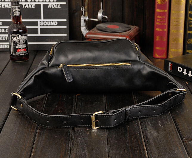 X-Online hot sale man vintage chest pack male small cross-body bags