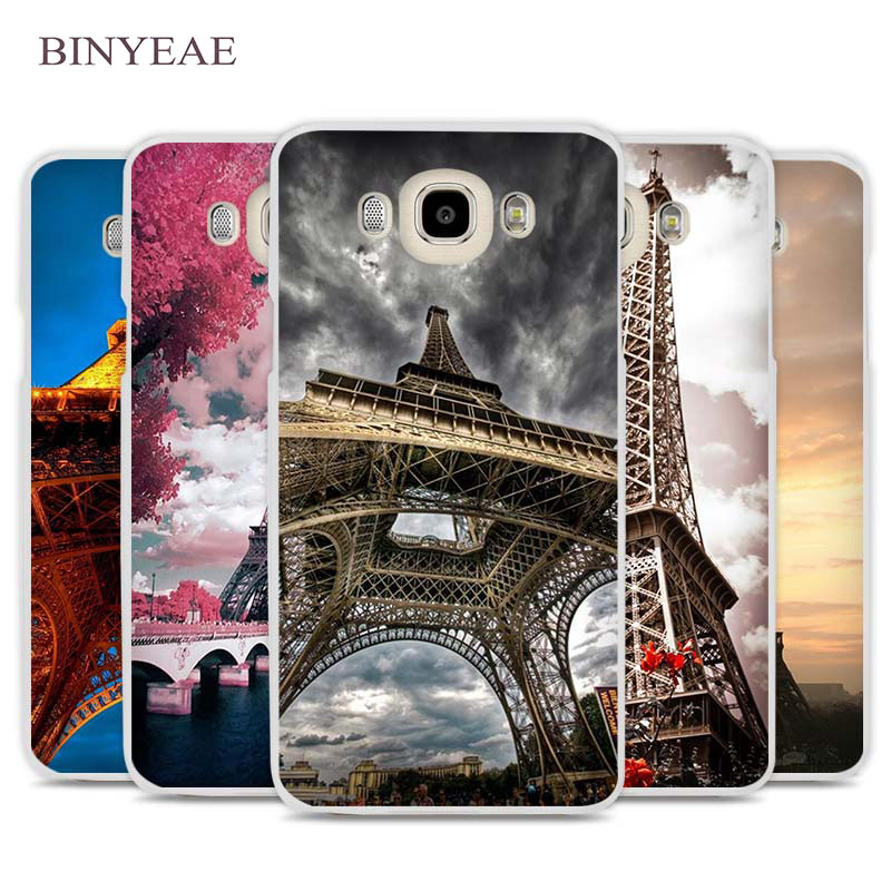 BINYEAE Eiffel Tower Night Bokeh France Paris Phone Case Cover for Samsung Galaxy J1 J2 J3 J5 J7 C5 C7 C9 E5 E7 2016 2017