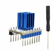 1 PC 3D части принтера МКС TMC2100 V1.3 StepStick Драйвер шагового двигателя Модуль с радиатором ультра-молчит отличные Производительность
