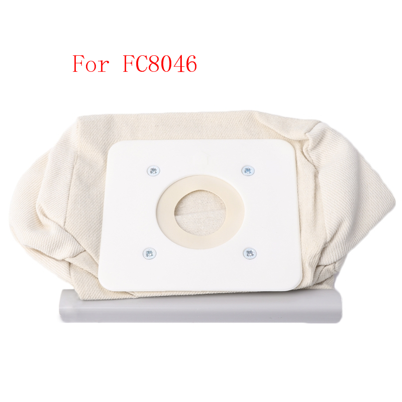 Non Woven Cloth Vacuum Cleaner Bag Reusable Dust Bags Replacement For FC8046Non Woven Cloth Vacuum Cleaner Bag Reusable Dust Bags Replacement For FC8046