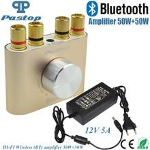 2017 neue Bluetooth Audio Receiver F900 Hause Verstärker Hifi Stereo Power AMP 50 Watt + 50 Watt Mit Power Adapter-10000693_G