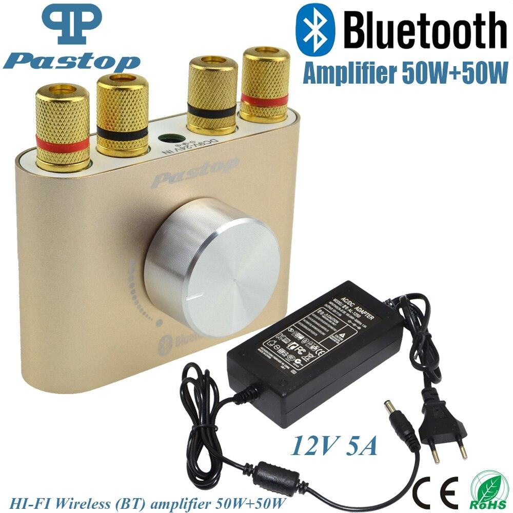 2017 Novo Do Bluetooth Receptor De Áudio F900 Bluetooth Casa Amplificadores Hifi Stereo AMPLIFICADOR De Potência de 50 W + 50 W Com Poder Adapter-10000693_G