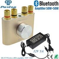 2016 New Golden F900 Super Mini Bluetooth Hifi Power Amplifier Stereo 2 0 Channel 30W 2