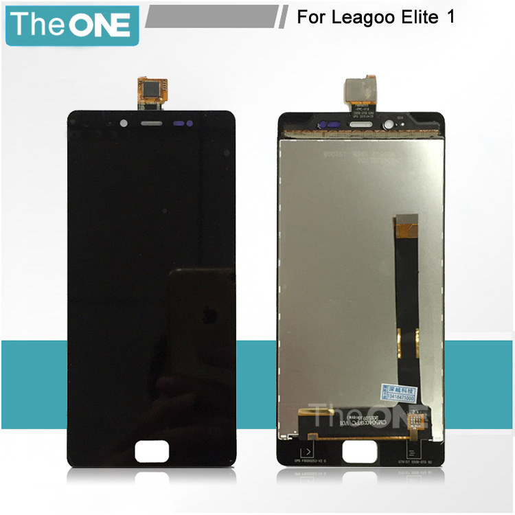 ФОТО 5 pcs/lot For LEAGOO Elite 1 LCD Screen 5.0inch lcd display+touch Screen Panel Replacement For LEAGOO Elite one (black/white)