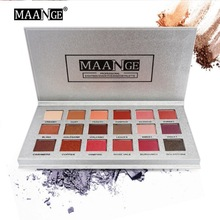 Make Up 18 colors Natural Shimmer Matte Eyeshadow Palette Professional Makeup Pallete Maquiagem все цены