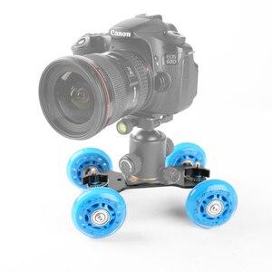 Настольный мини-слайдер для камеры Canon, Nikon D5300, D7100, D600, 60D, 5DII, 5diii, 7D, аксессуары для цифровой зеркальной фотокамеры
