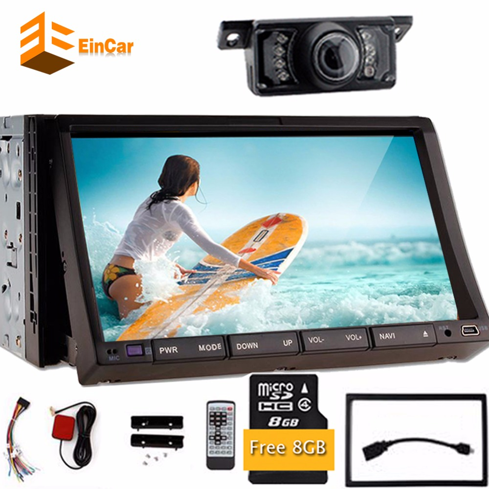 7 inch TV double 2Din In Dash 2din Car DVD Player built in GPS ...