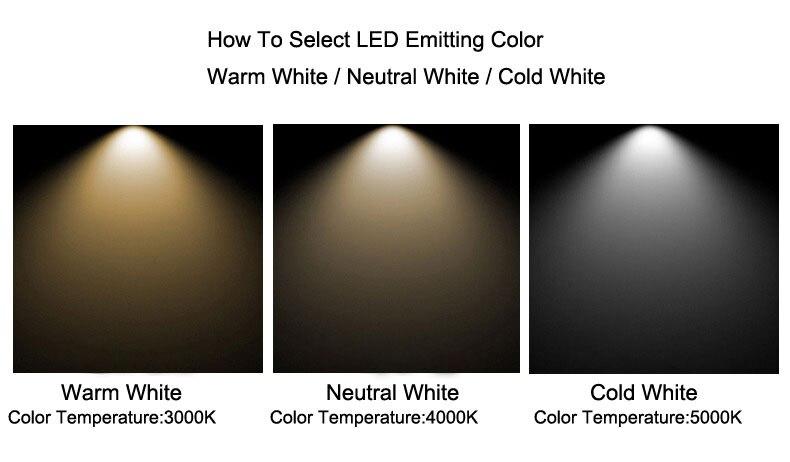 12 w led ponto iluminação teto lâmpada
