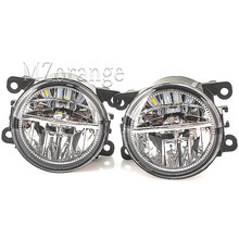 for Renault Duster Megane 2/3 Fluence Koleos Kangoo 2003-2015 Fog Lamp car lights assembly super bright 2 pcs led Fog Lights