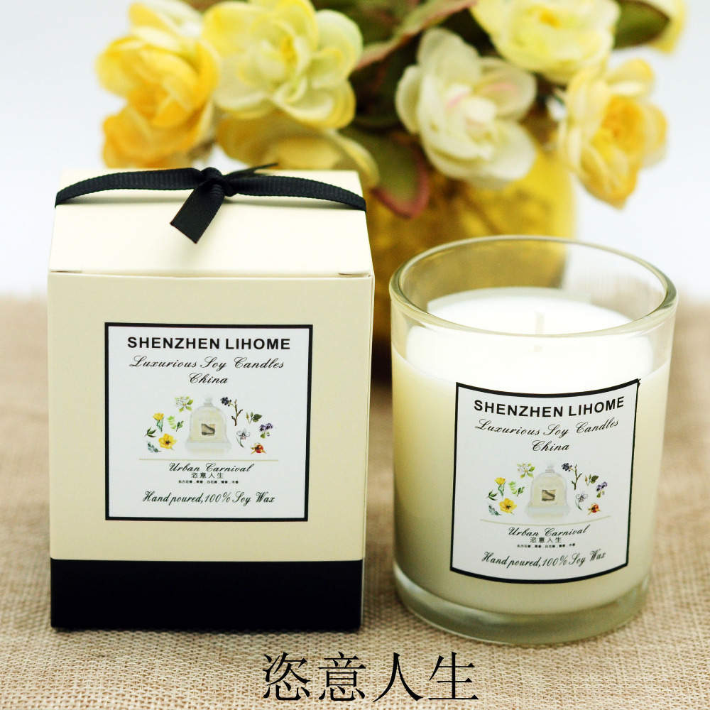 110g Aromatherapy Candle Wedding Romantic Scented Candles Party ...