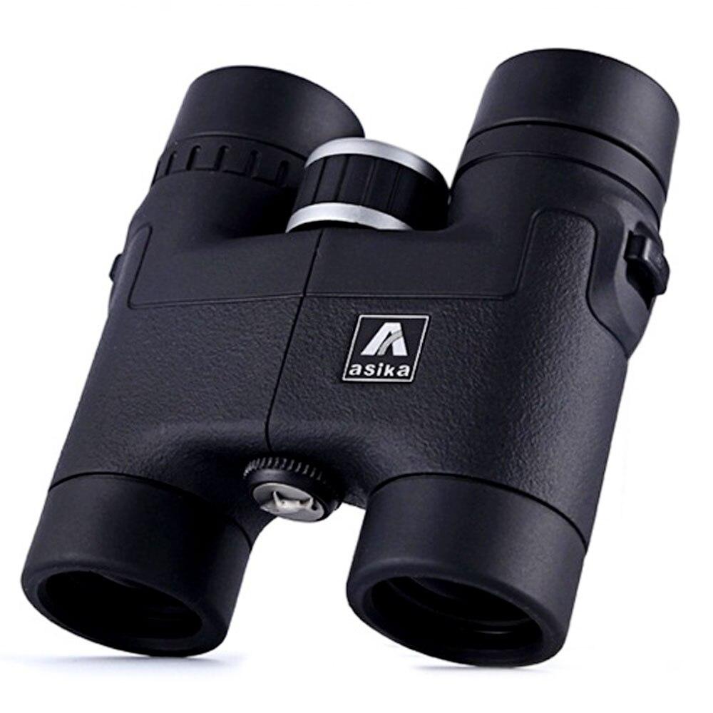 8x32 high quality Fully HD Multi-Coated Asika Binoculars prism BAK4 Prism binoculo Roof telescopio Original telescope