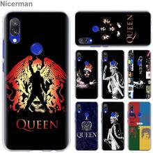 Freddie Mercury Band Queen Case Cover for Xiaomi Redmi Note