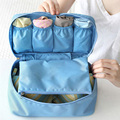 Necessaire Waterproof Underwear Bra Makeup Toiletry Bags Portable Cosmetic bags Organizer Storage Pouch Bags Handbags For Travel