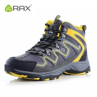 Rax Men Winter Hiking Shoes Boots Camping Climbing Shoes Male Wearable Climbing Sneakers Breathable Mountain Walking Boots D0543