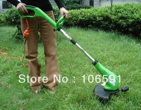 Electric Wheel Brush Grass Cutter Trimmer Handle Mower