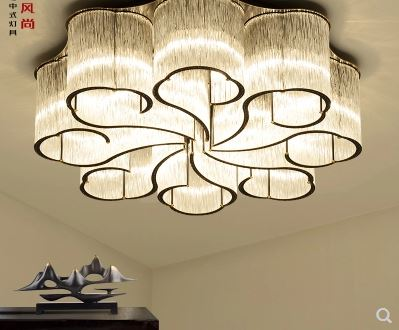 New Chinese ceiling lamp round crystal living room lamp simple atmosphere Chinese style bedroom light luxury glass lightingNew Chinese ceiling lamp round crystal living room lamp simple atmosphere Chinese style bedroom light luxury glass lighting