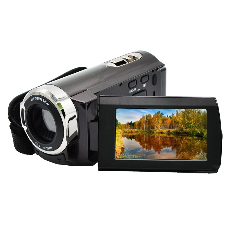 HDV-5051S 16X Digital Photo Camera Full HD 1080P Professional Digital Camcorder 3'' Rotation Screen Support Infrare Night Vision