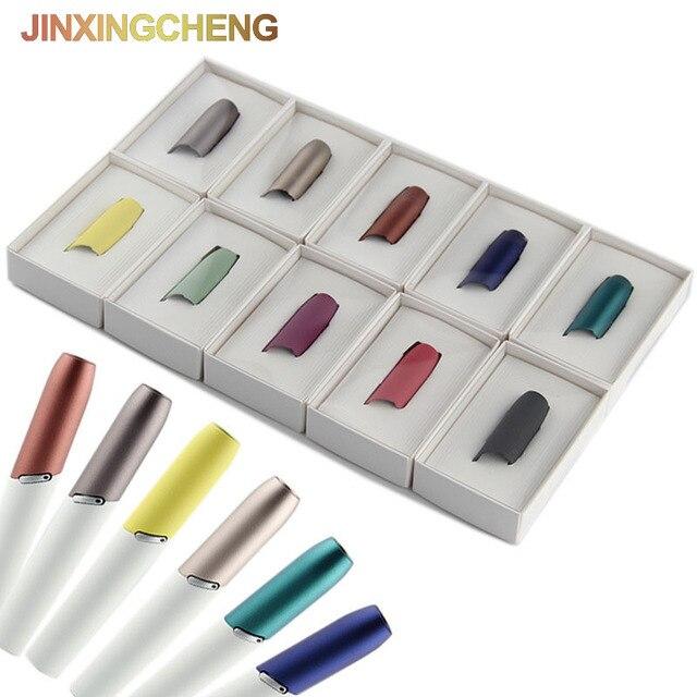 JINXINGCHENG Новый Красочный Защитный колпачок мундштук для iqos 3,0 держатель нагревательного стержня для iqos 3 DUO Сменный колпачок аксессуары