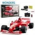 Rc автомобиль 1/18 F1 формула автомобиль F1 автомобиль с дистанционным управлением электрический автомобиль высокоскоростной высокое качество подарок