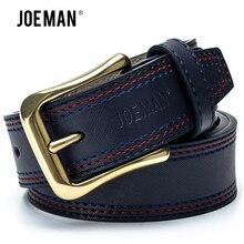 New Designer Men's Belts Luxury Man Fashion Genuine Leather Cowskin Belt High Quality Black Dark Brown Light Brown DarkBlue