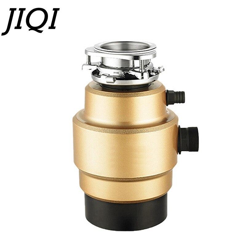 Triturador de Eliminação de Resíduos Jiqi Doméstico Elétrico Alimentos Cozinha Triturador 400 w Moedor