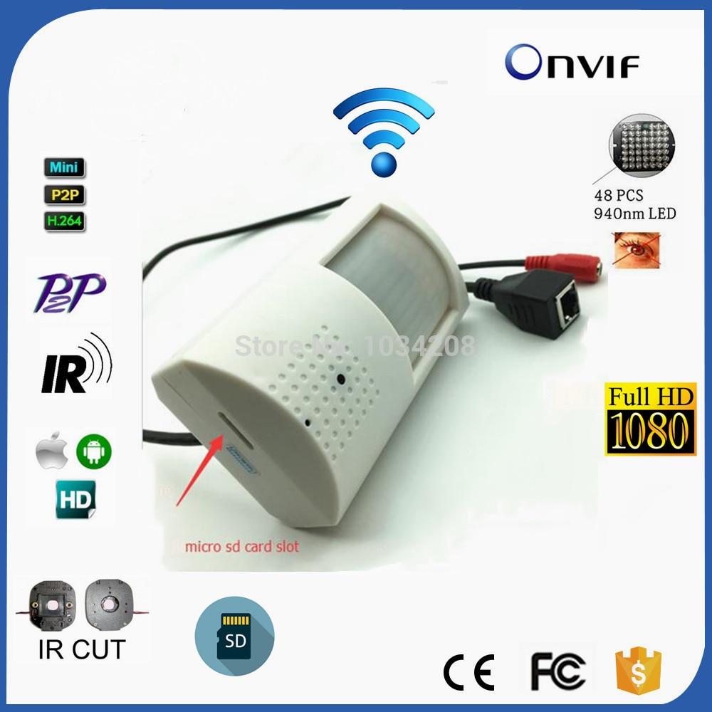 Emplacement pour carte Micro SD 1080 P HD 1/2. 8 ''SONY IMX323 capteur Ultra faible lux caméra IP WIFI sécurité caméra IR IP sans fil intérieur Onvif