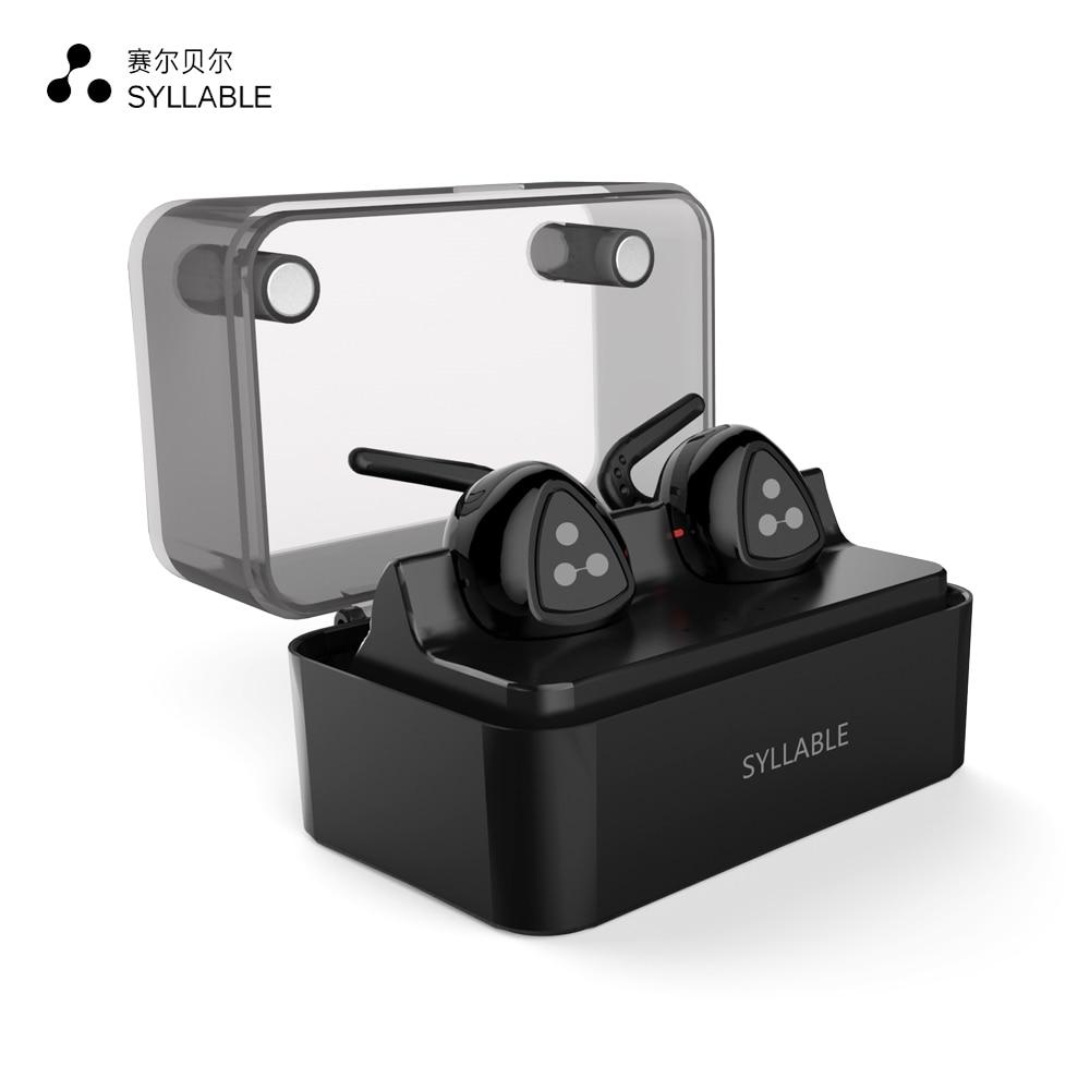 100% Original Syllable D900MINI Bluetooth 4.0 Earphone Duble ears Mini Earphone Twins True Wireless Earphone stereo Earbuds
