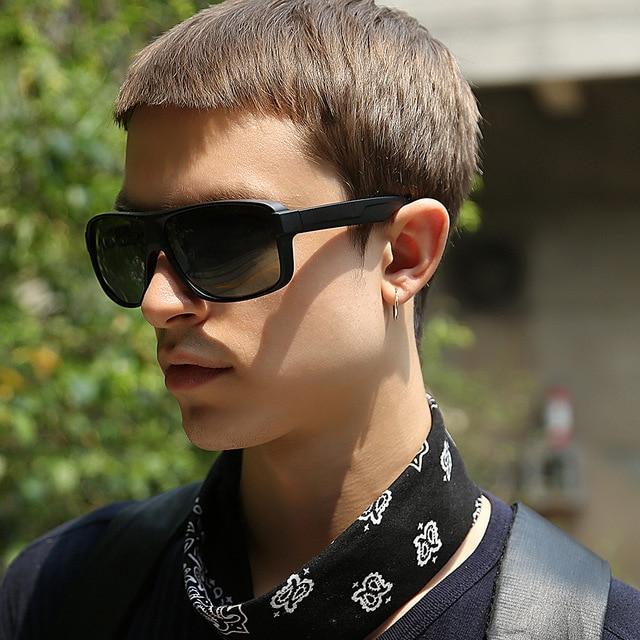 Square Frame HD Polarized Sunglasses Outdoor Sport Driving Fishing Eyewear UV400