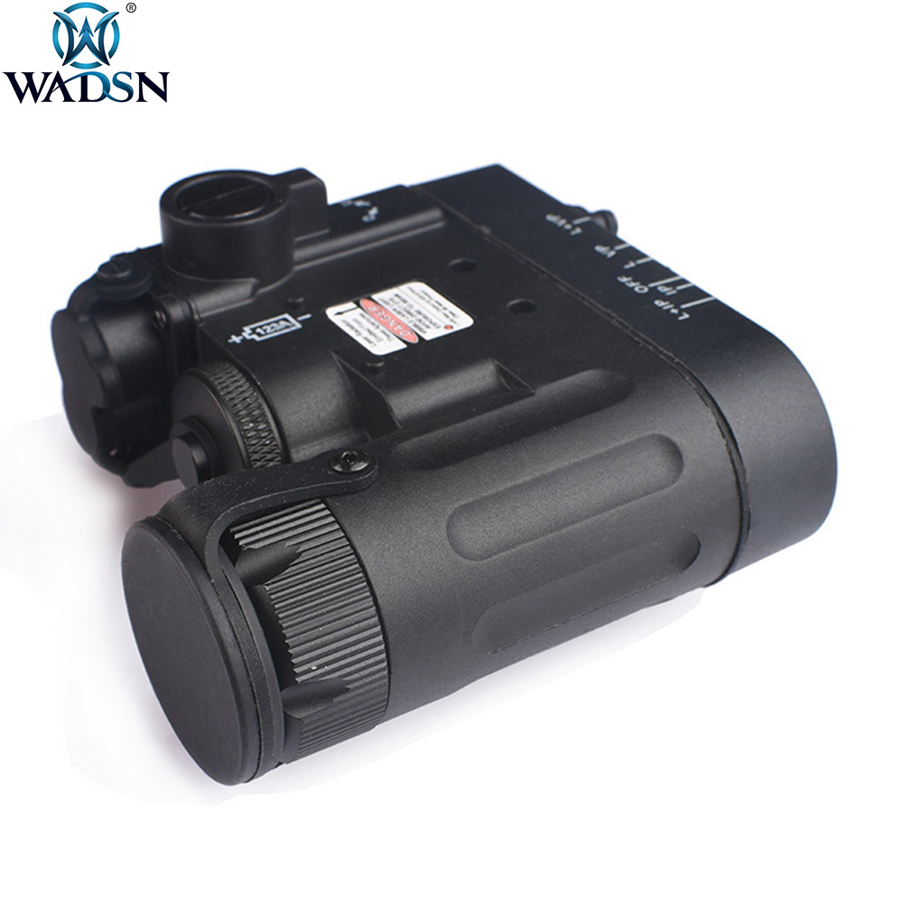 WADSN Airsoft DBAL A2 IR Red Laser LED DBAL MKII Multifunction Softair Tactical DBAL D2 Battery