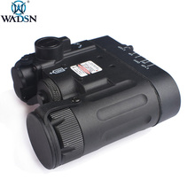 WADSN Airsoft DBAL-A2 IR Red Laser LED DBAL-MKII Multifunction Softair Tactical DBAL-D2 Battery Case lazer Weapon Flashlight