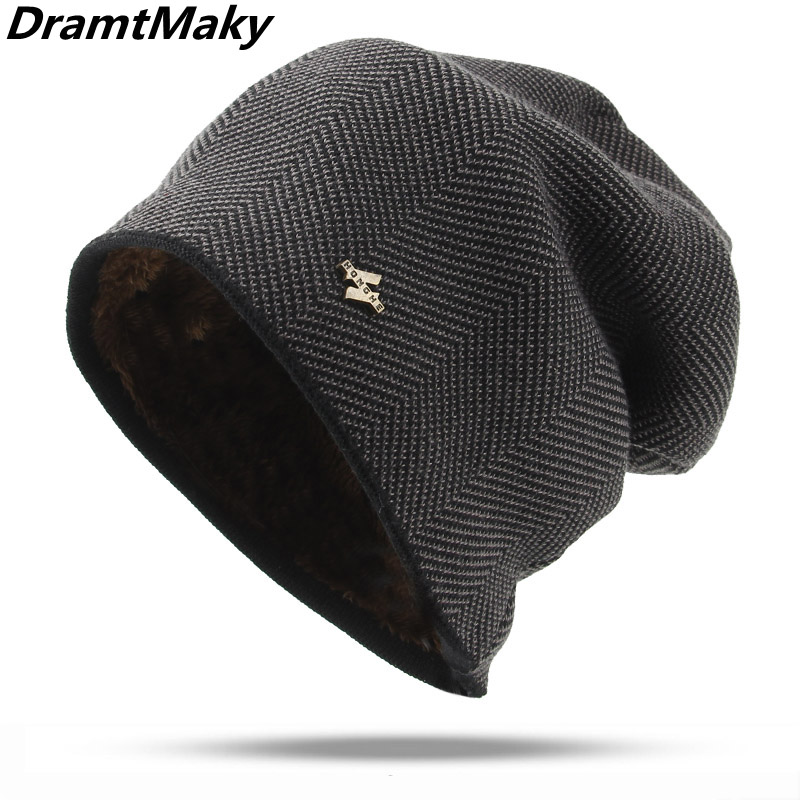 2018 Men's winter hats   Beanies   Knitted Hat Caps Mask Bonnet Warm Winter Hats For Men Women   Skullies     Beanies   Hats autumn gorro