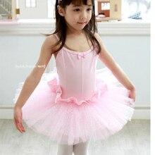 4267cb7b3 Envío Gratis chica Kids vestido Ballet ropa niños Swan Lake Ballet trajes  Correa Tutus Dancing disfraces ninas 3-13y