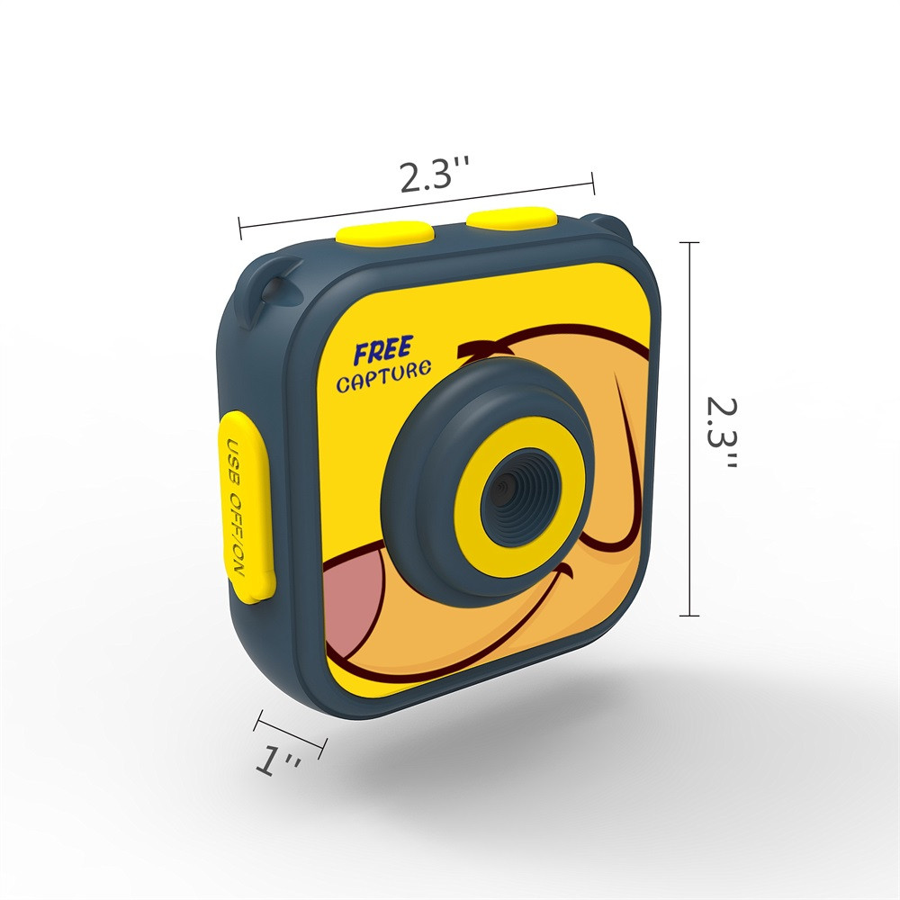 Kid Fun Novelty Toy Gift Anti-stress Boys Girl 720P Waterproof Sports Camera HD Camcorder Holiday Learn Camer Toy For Children