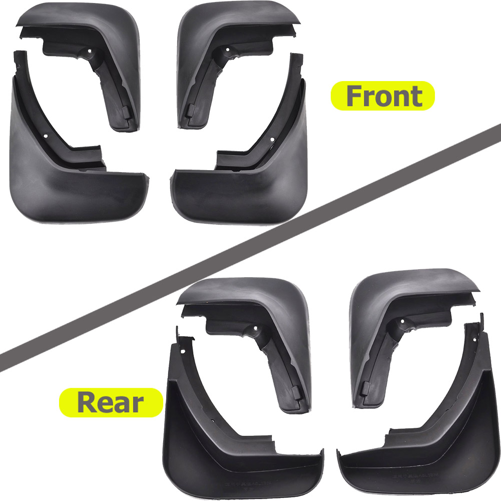 Image 2 - FIT FOR AUDI A6 C6 2006 2007 2008 2009 2010 SEDAN MUD FLAP MUD FLAPS SPLASH GUARDS MUDGUARD MUDFLAPS ACCESSORIES-in Mudguards from Automobiles & Motorcycles