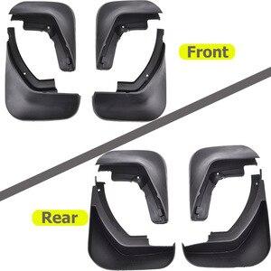 Image 2 - Guardabarros para coche, accesorios de guardabarros para AUDI A6, C6, 2006, 2007, 2008, 2009, 2010, SEDAN