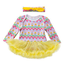 ARLONEET 2019 New summer babys Dress Toddler Newborn Baby Girls Princess Easter Eggs Tutu Dress Outfits Set Z0207(China)