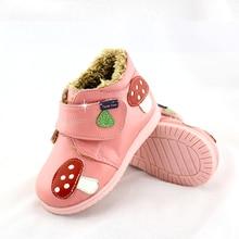 TipsieToes/; мокасины; Детские Зимние модельные туфли; теплые детские зимние сапоги; Кожаные Осенние водонепроницаемые ботинки для маленьких мальчиков и девочек