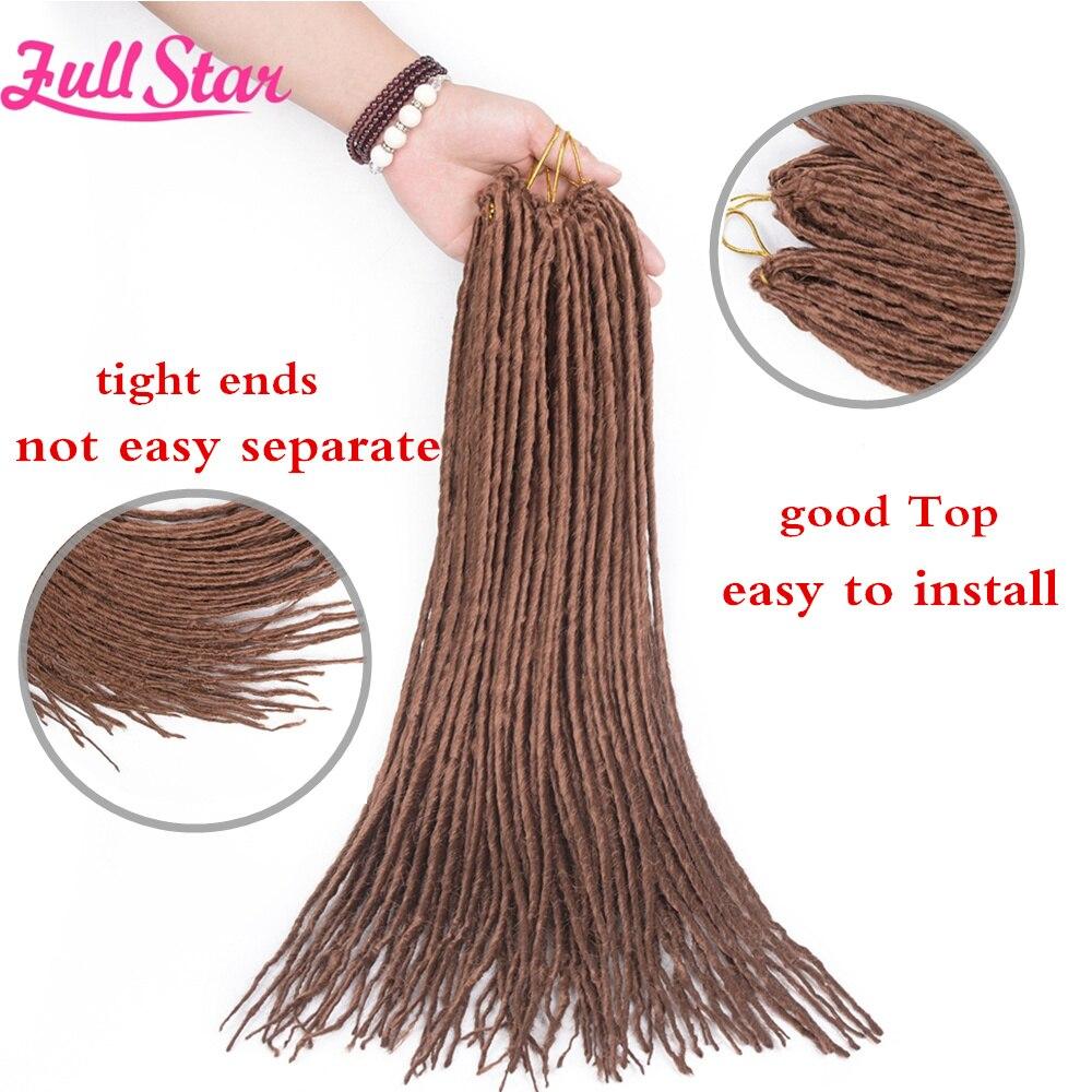 Full Star Dreadlocks hair816_