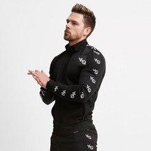 Vanquish 2018 весна фитнес для мужчин толстовки брендовая одежда с капюшоном на молнии фуфайка для тренажерного зала МЫШЦЫ Slim Fit куртк