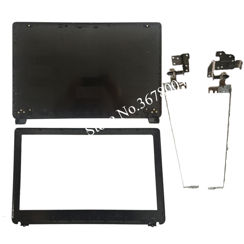 NEW For Acer Aspire E1-510 E1-530 E1-532 E1-570 E1-532 E1-572G E1-572 black LCD top cover case/LCD Bezel Cover/LCD hinges quying laptop lcd screen for acer aspire m3 581tpg f5 571 e1 572 e1 530 e1 532 e1 570 e1 570g series 15 6 inch 1366x768 30pin