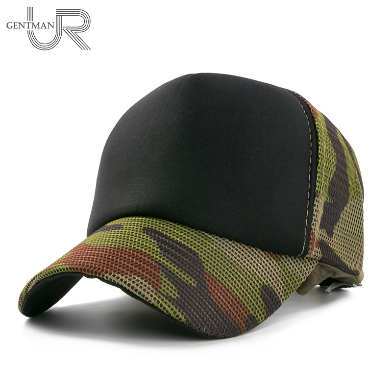 New Summer Baseball Cap Camouflage Mesh Hat Cap For Men Women High Quality Composite Material Cap Casual Sports Dad Hats