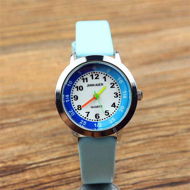 free shipping boys and girls cute cartoon quartz watch Middle and little childre